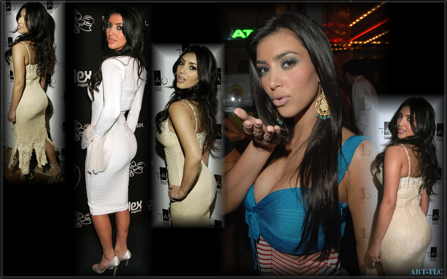 kim kardashian background
