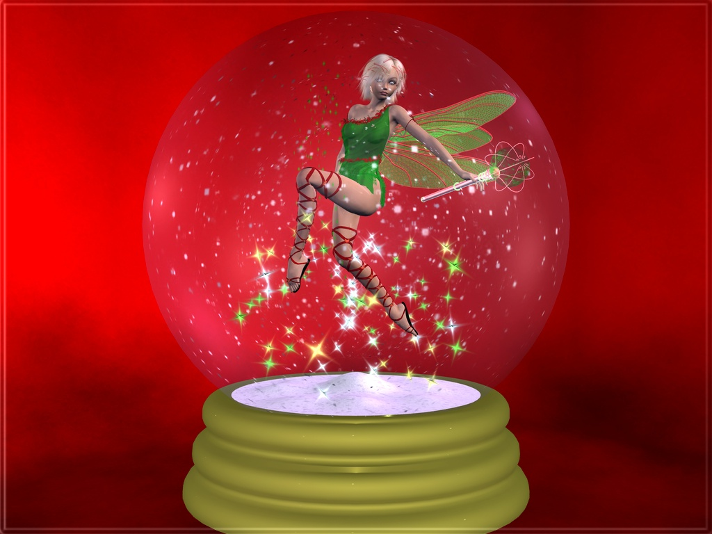 Free Wallpapers By Art Tlc Wallpapers Tlc Christmas Fairy